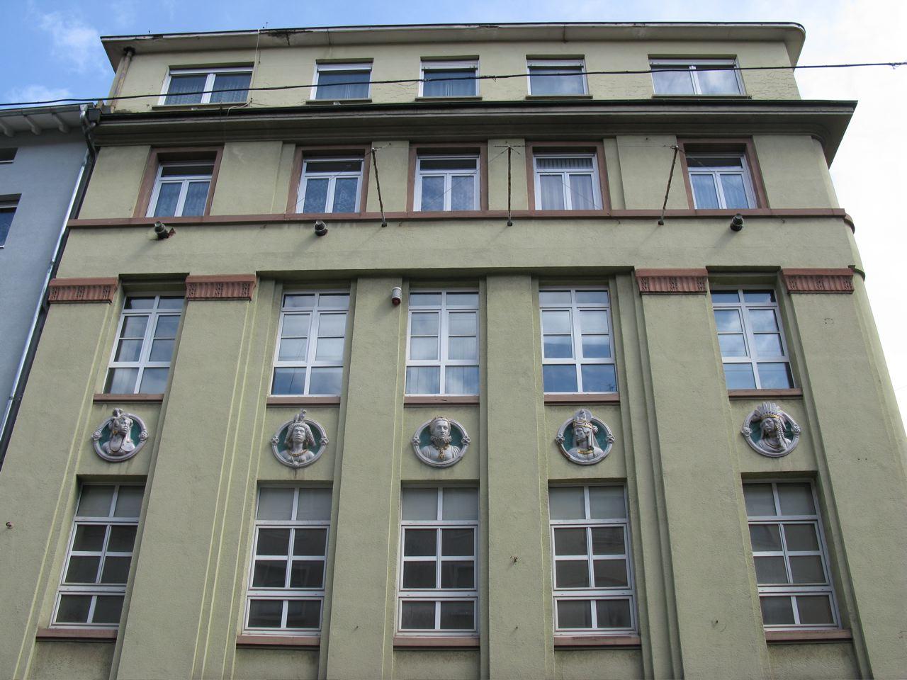 Aus dem Stadtwiki PF: Kontorhaus Kollmar & Jourdan-Haus